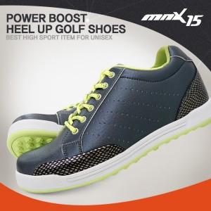 MNX15 남여공용 스파이크리스 키높이 골프화5cmGM002 그레이(GM002gray)