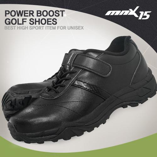 MNX15 남여공용 캐주얼 골프슈즈 캐디화 블랙(CHSH201609 black)